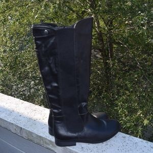 Malmo Women's Riding Boots Size 8.5 Black Tall